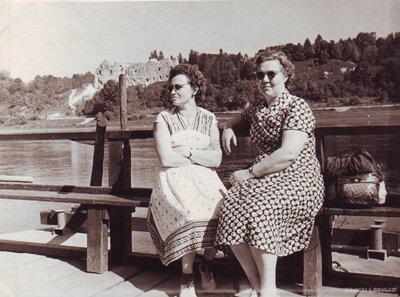 Pārgājiens no Kokneses uz Staburagu 1961.gada vasarā