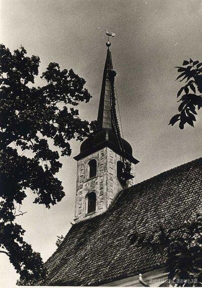 Limbažu luterāņu baznīca. Torņa remonts