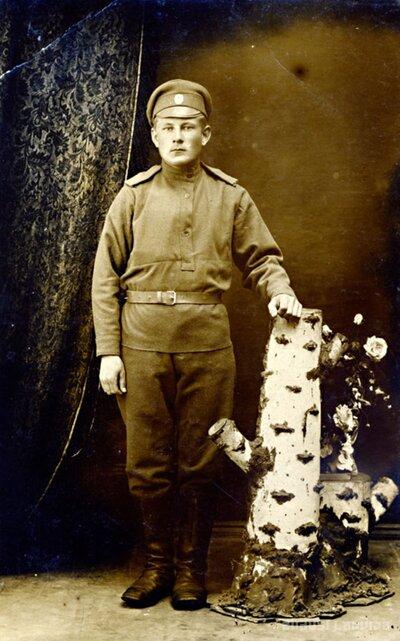 Strēlnieka Kārļa Vītola portrets