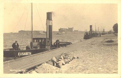 Zvejnieki Ventspils ostā