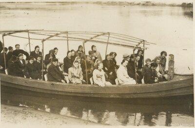 Skolnieki ekskursijā