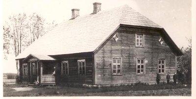 Staiceles pagasts. Puršānu skola
