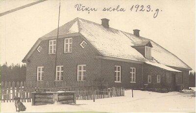 Staiceles pagasts. Vīķu skola