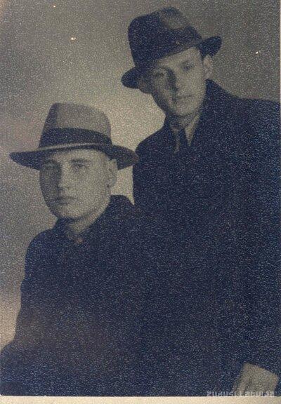 Henrijs Klēbahs un Ilmārs Rake