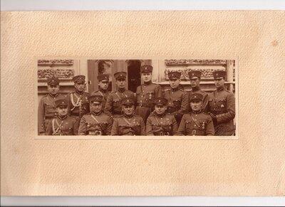 Kurzemes divīzijas pārvaldes virsnieki