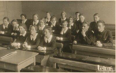 Rīgas Franču liceja skolnieki