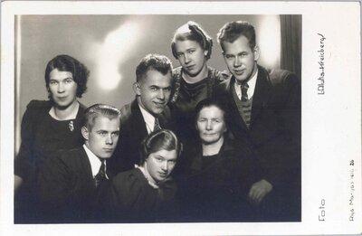 Sofija Brink ar bērniem