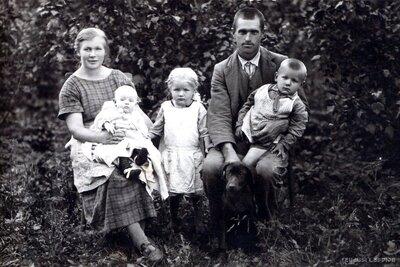 Beržinsku ģimenes portrets