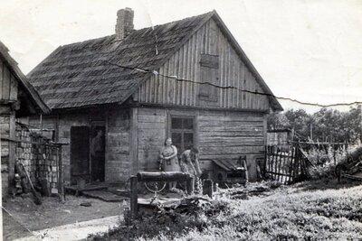 Nīkrāces pagasts. Mājas ''Ezermaļi''