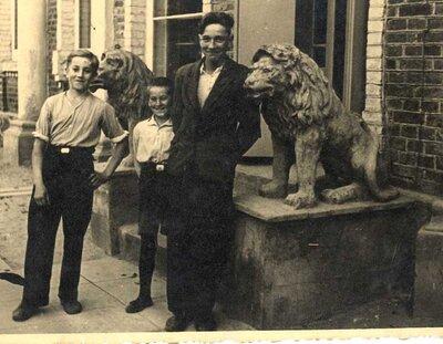 Limbaži. Lauvas nams Jūras ielā
