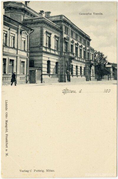 Jelgavas Amatnieku biedrības ēka Akadēmijas ielā