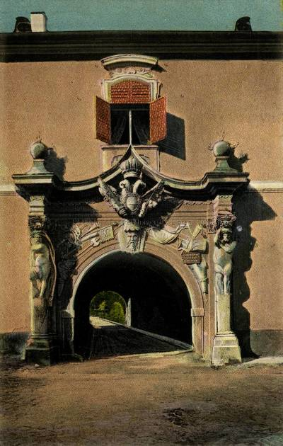 Alba Iulia [material iconografic] : Poarta Mihai Viteazul