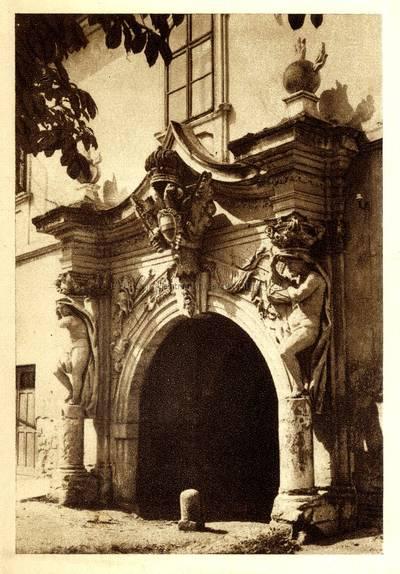 Alba Iulia [material iconografic] : Poartă a vechiului oraş