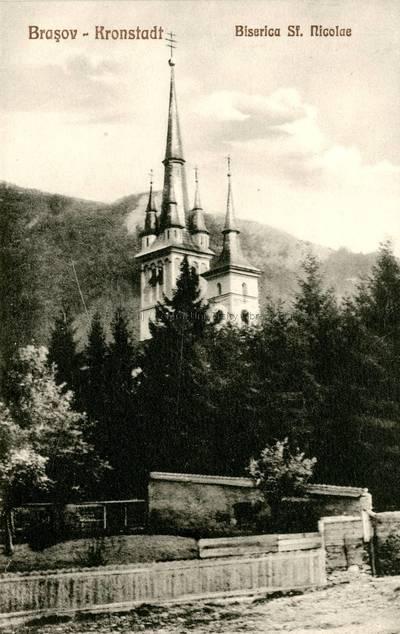 Braşov : Biserica Sf. Nicolae [material iconografic] = Kronstadt