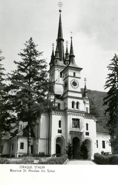 Oraşul Stalin : Biserica Sf. Nicolae din Schei [material iconografic]