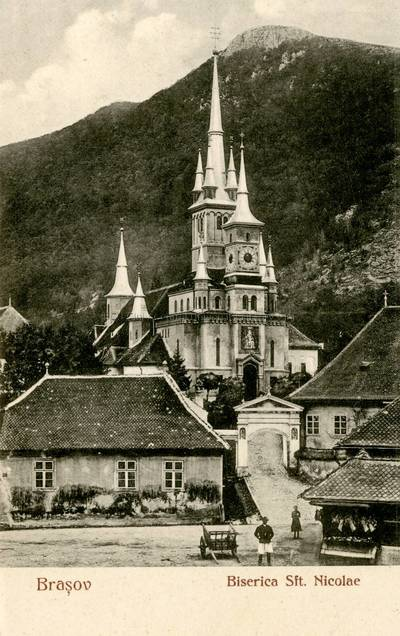 Braşov : Biserica Sft. Nicolae [material iconografic]