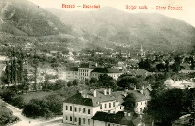 Brassó : Bolgár szék [material iconografic] = Kronstadt : Obere Vorstadt