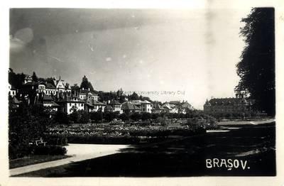 Braşov : [parcul Cuteanu şi Şirul N. Iorga] [material iconografic]