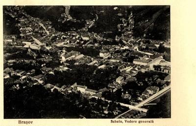 Braşov : Scheiu, Vedere generală [material iconografic]