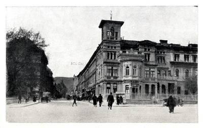 Braşov : strada Porţii [material iconografic] = Kronestadt : Purzengasse = Brasso : Kapu utca