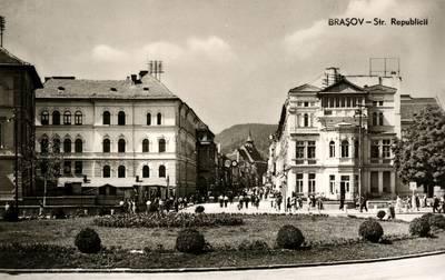 Braşov : str. Republicii [material iconografic]