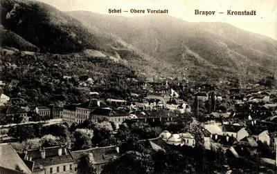 Şchei - Braşov [material iconografic] = Obere Vorstadt - Kronstadt