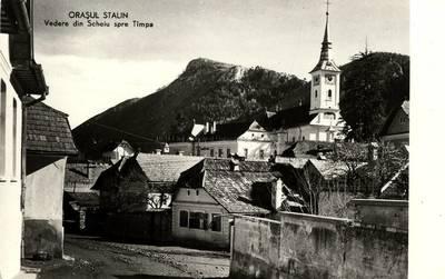 Oraşul Stalin : vedere din Scheiu spre Tîmpa [material iconografic]