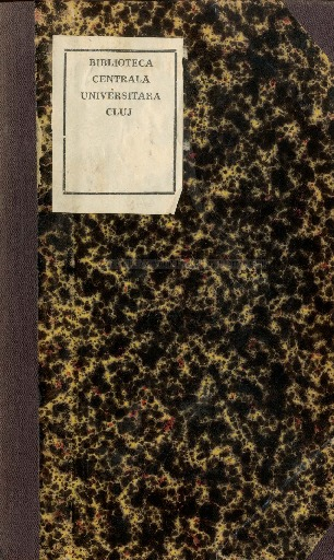 Ode excellentissimo, illustrissimo, ac reverendissimo domino domino Joanni Bab, de kápolnak-monostor, Dei, at apostolicae sedis gratia per Transilvaniam graeci ritus unitorum episcopo Fogarasiensi, S.C.R. Ap. majestatis status consiliario actuali intimo dum Claudiopoli erectam impensis suis ecllesiam die 28 august anni 1803, sacro ritu consecraret, oblata