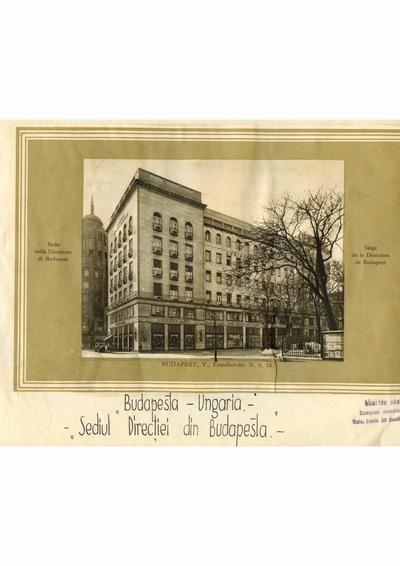 Reproducere foto, Vedere din Budapesta, Ungaria; i-a apartinut lui Dumitru Dan