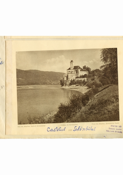 Reproducere foto, Castelul Schonbuhel; i-a apartinut lui Dumitru Dan