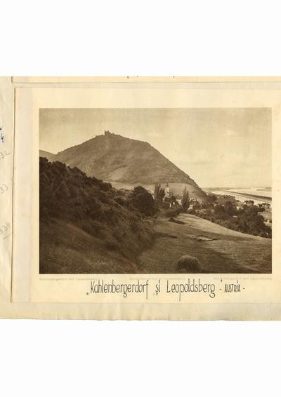 Reproducere foto, Vedere din Austria; i-a apartinut lui Dumitru Dan