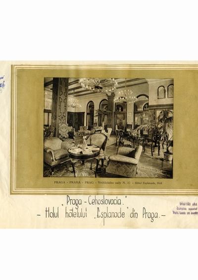 Reproducere foto, Vedere din Praga; i-a apartinut lui Dumitru Dan