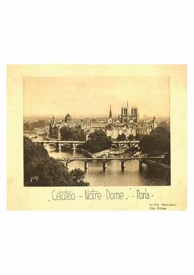 Reproducere foto, Notre Dame, Paris; i-a apartinut lui Dumitru Dan
