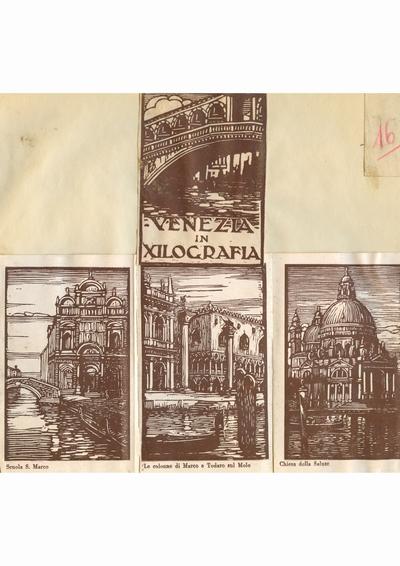 Reproducere foto, Venetia in xilografie; i-a apartinut lui Dumitru Dan