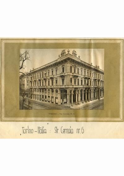Reproducere foto, Via Cernaia, Torino; i-a apartinut lui Dumitru Dan