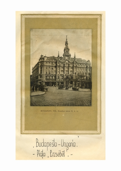 Reproducere foto, Piata Erzsebet, Budapesta; i-a apartinut lui Dumitru Dan