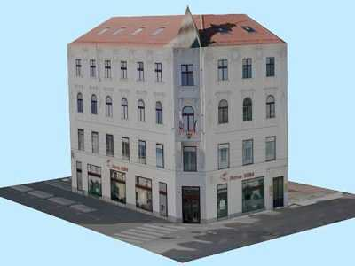 House on Ciril-Metod Square 1