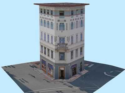 House on Prešeren Square 1