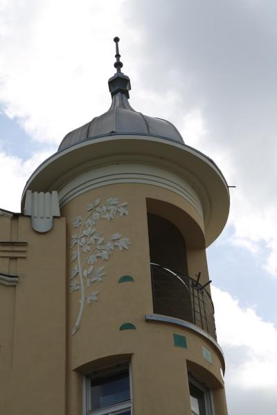 Krisper House, Ljubljana, Tower
