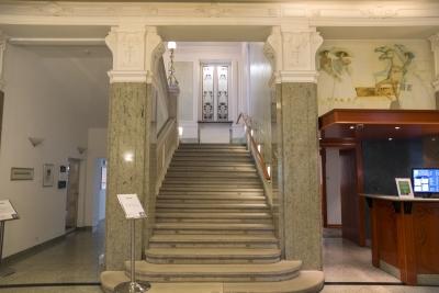 Hotel Union, Ljubljana, Staircases