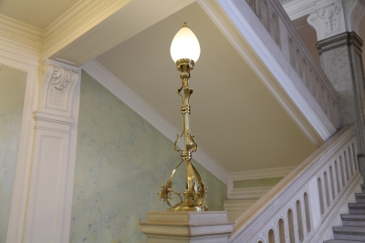 Hotel Union, Ljubljana, Lamp on staircases