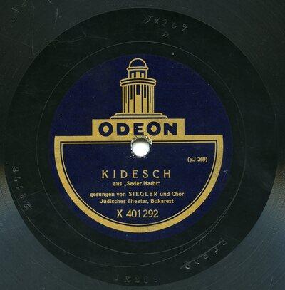 Kidesh aus Seder Nacht