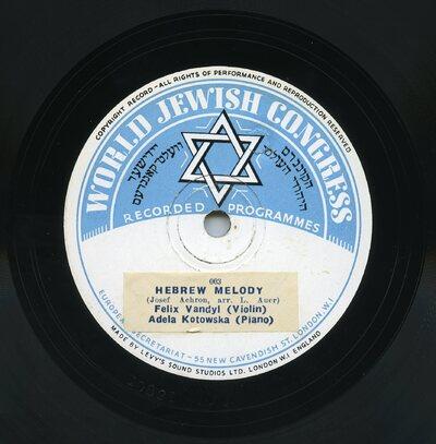 Hebrew Melody