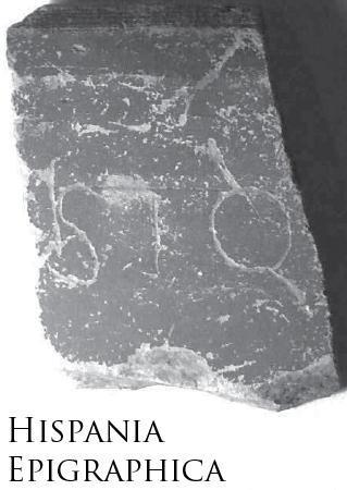 Grafito sobre fragmento cerámico