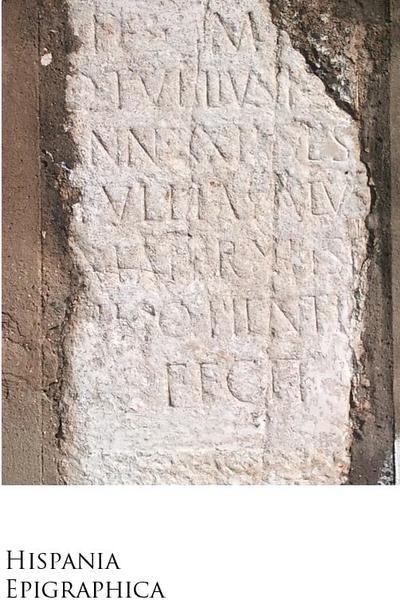 Inscripción de tipo epitafio / sepulcral hallada en Ugultunia Contributa Iulia