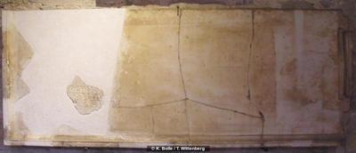 Grabinschrift auf Mensa