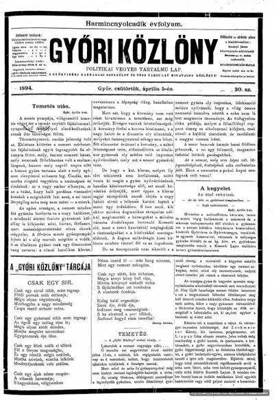 A Győr- és Győrszigeti Chevra Kadisa új képviselőtestülete :  Győr, április 5-én