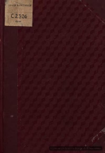 Győr színészete :  1. rész 1849-ig
