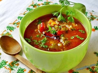 Постна супа от лобода