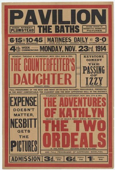 Pavilion, The Baths, Highstreet, Plumstead